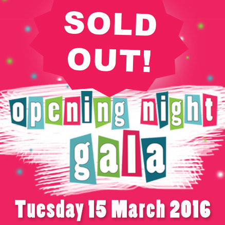 Sold Out - Opening Night Gala