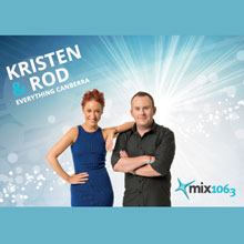Kristen & Rod on Mix 106.3